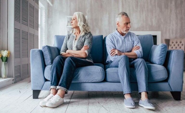 El divorcio gris: un fenómeno en aumento