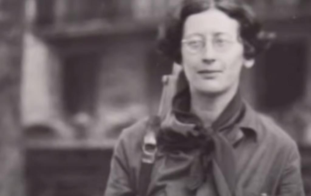 Simone Weil en la calle
