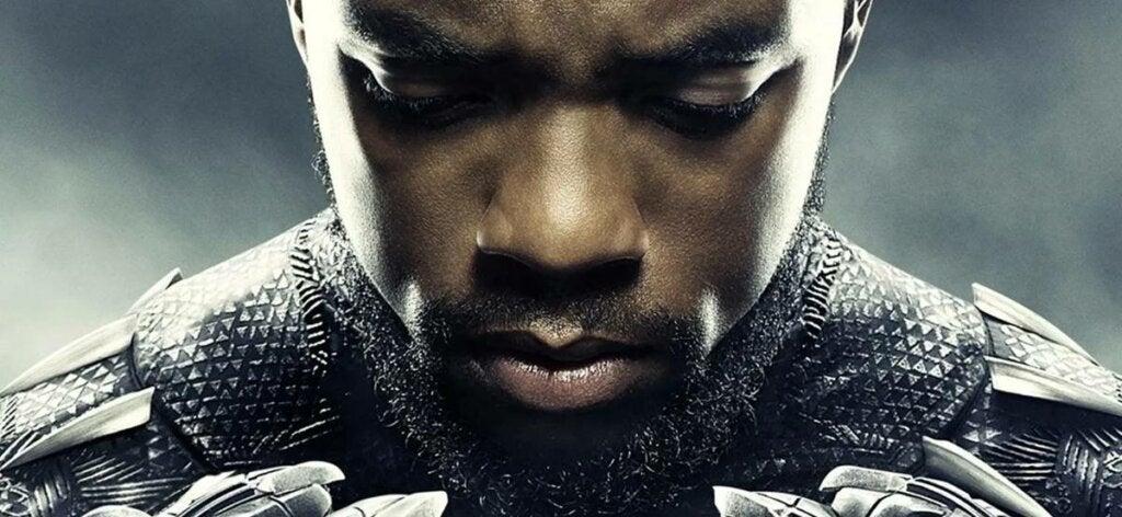 Black Panther representando el impacto de cuando mueren personas famosas