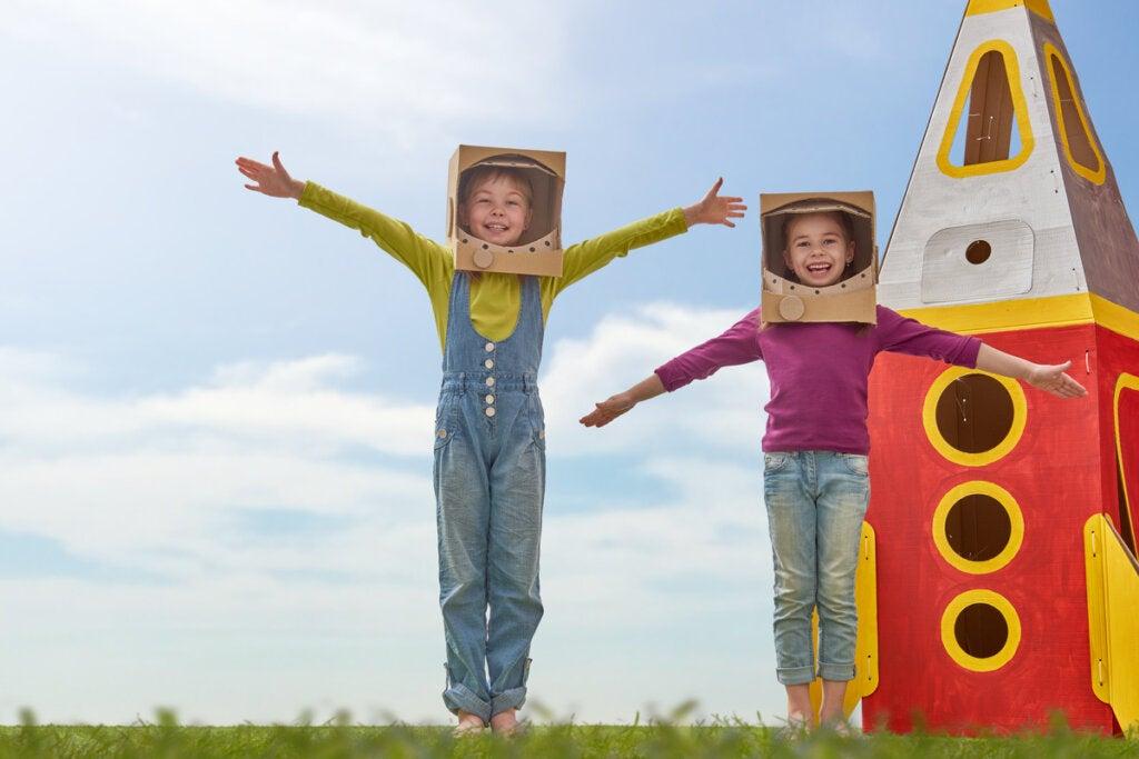 El disfraz infantil: beneficios psicológicos