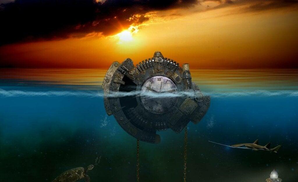 Reloj representando el sueño polifásico