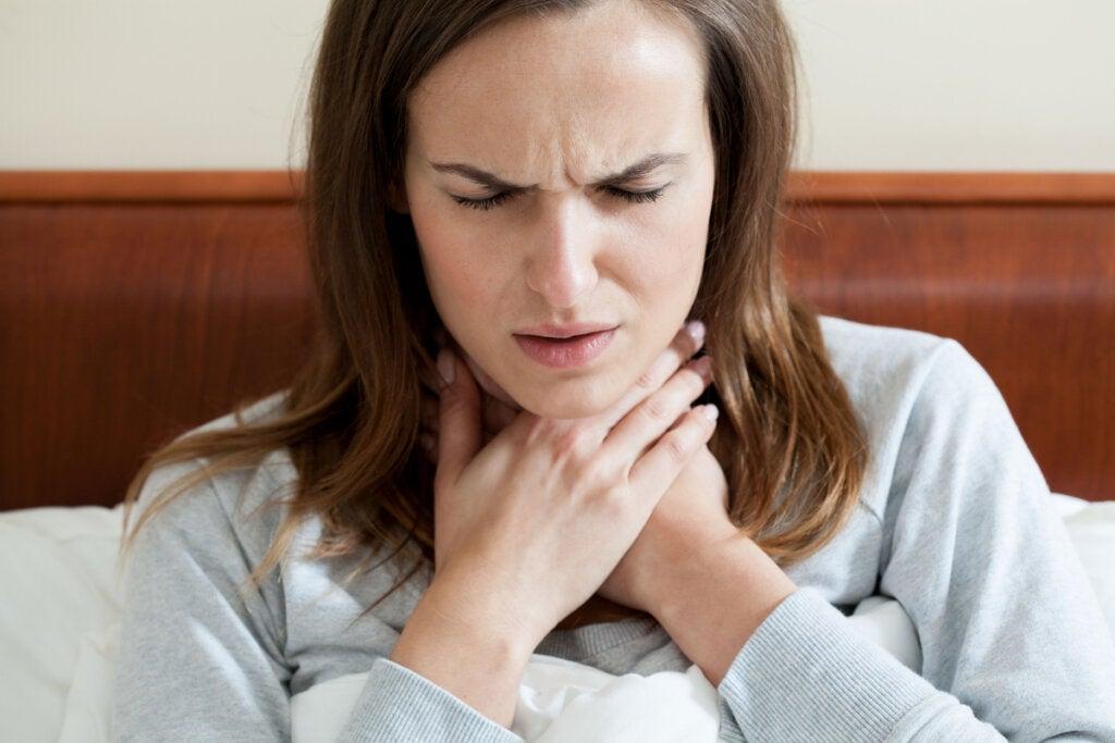 Dolor de garganta por estrés: causas y qué podemos hacer