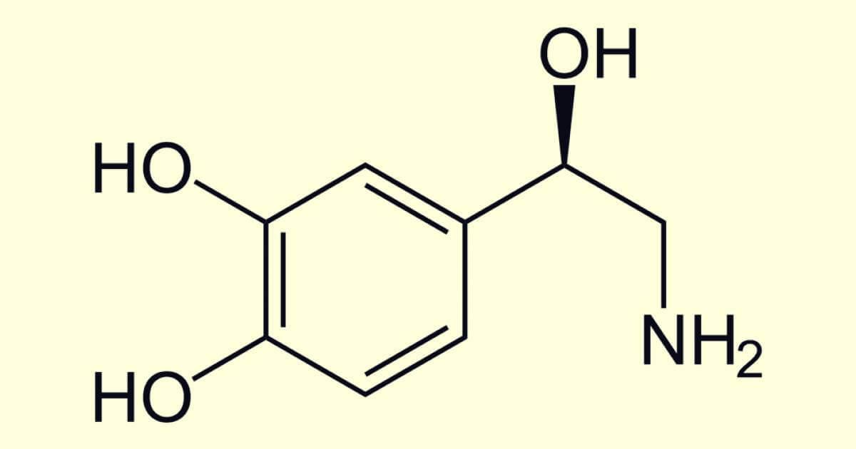 fórmula de las Catecolaminas
