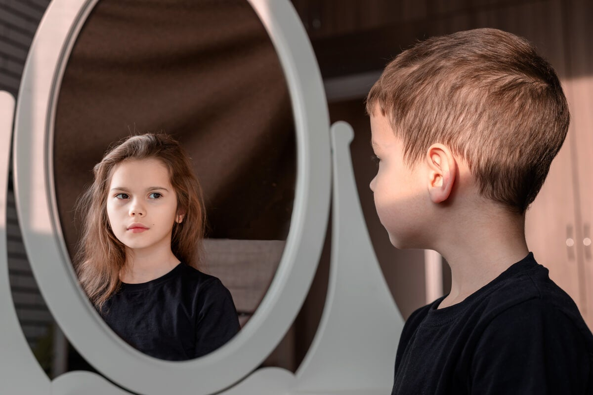 Niño con disforia de género