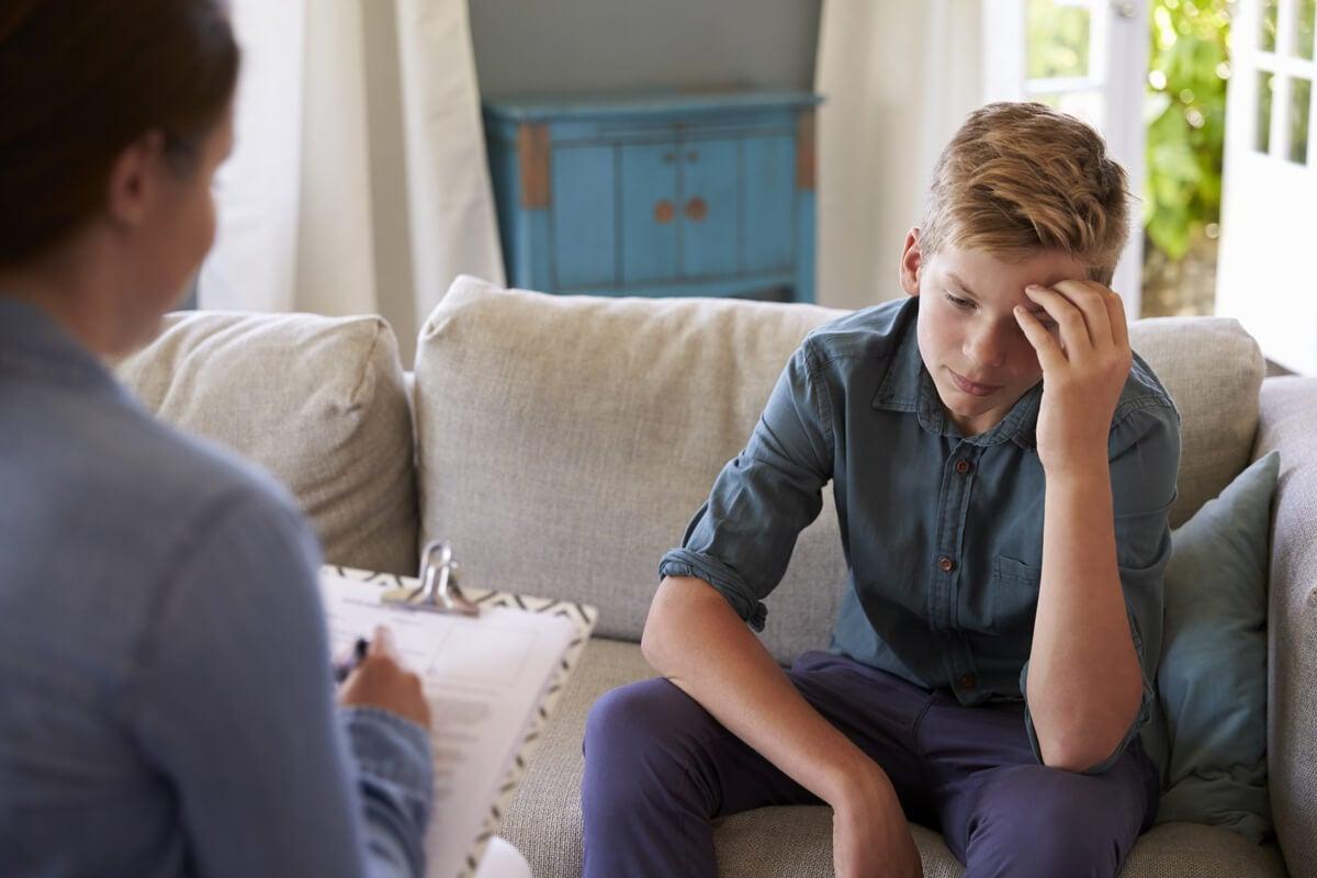 Adolescente en terapia