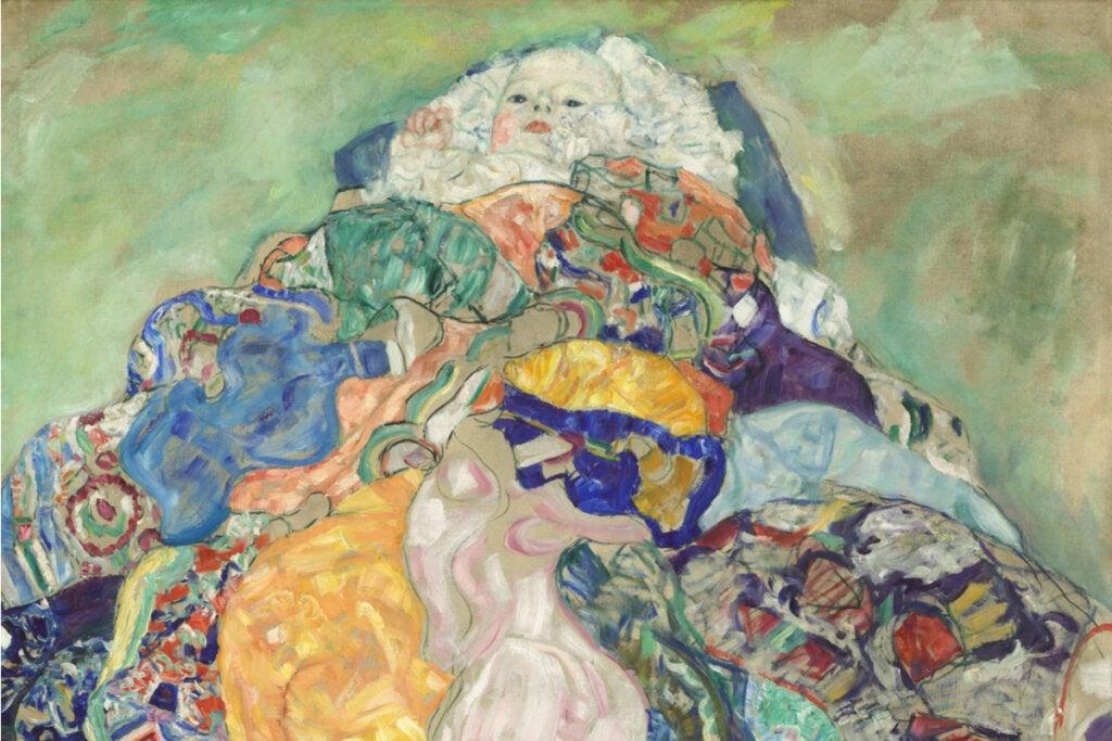 Cuadro Baby de Gustav Klimt