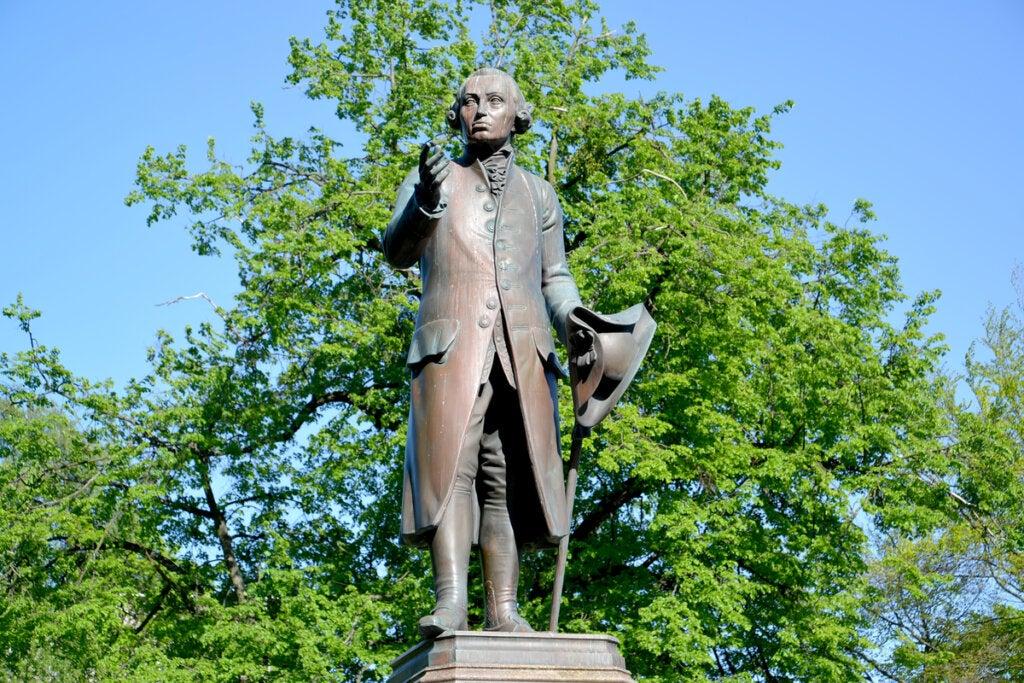 Estatua de Kant
