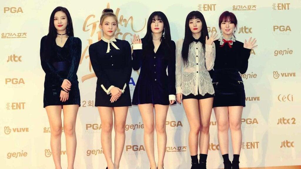 grupo representando el fenómeno k-pop