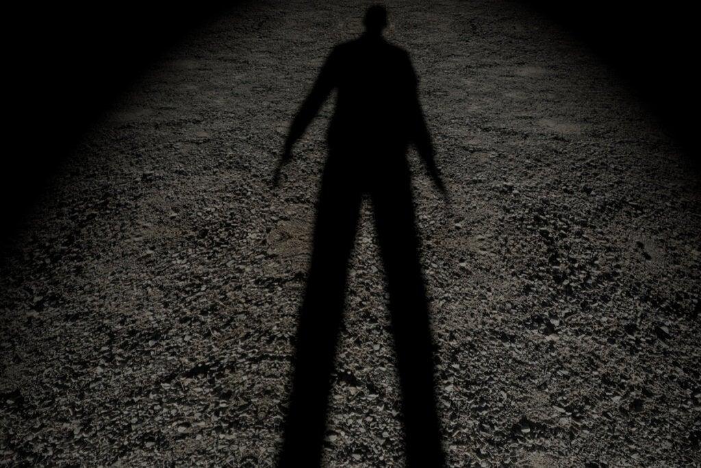 Sombra de un hombre