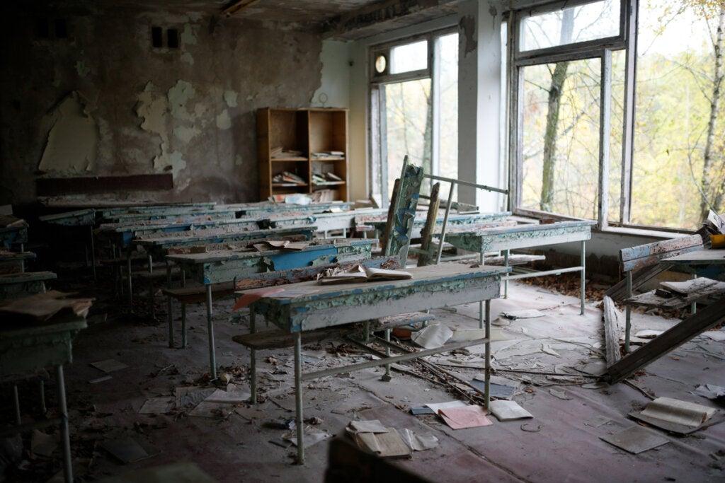 Aula de Chernóbyl