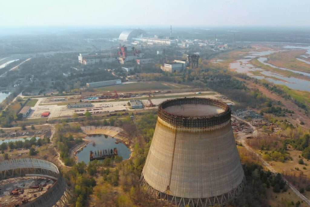 Central nuclear de Chernóbyl