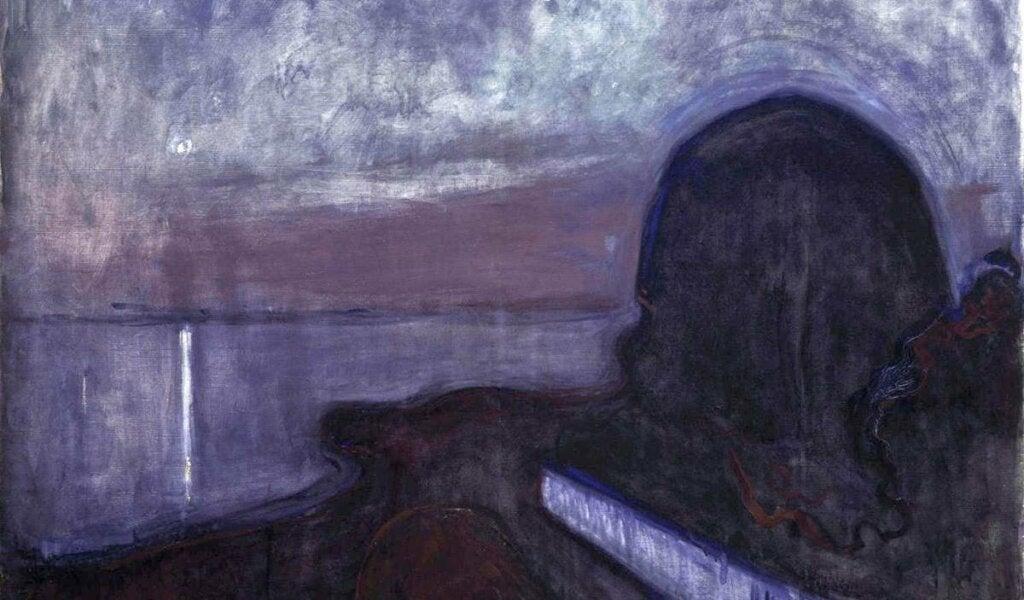 cuadro representando cómo la depresión altera la forma en que percibimos los colores
