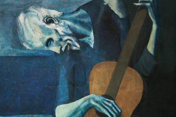 El guitarrista ciego de Picasso