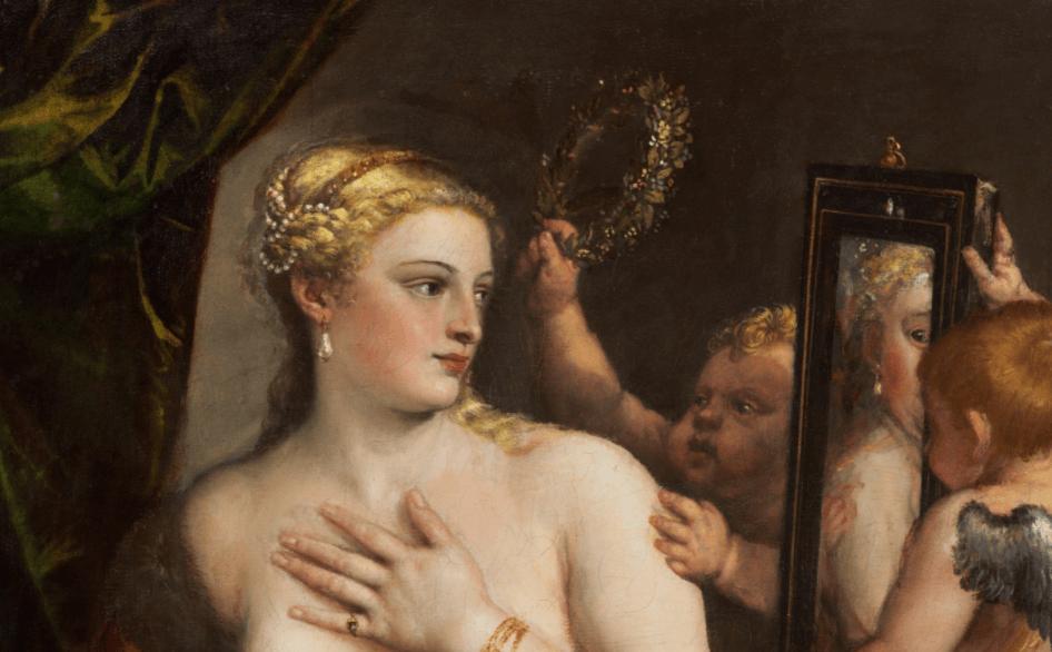 Venus del espejo de Tiziano