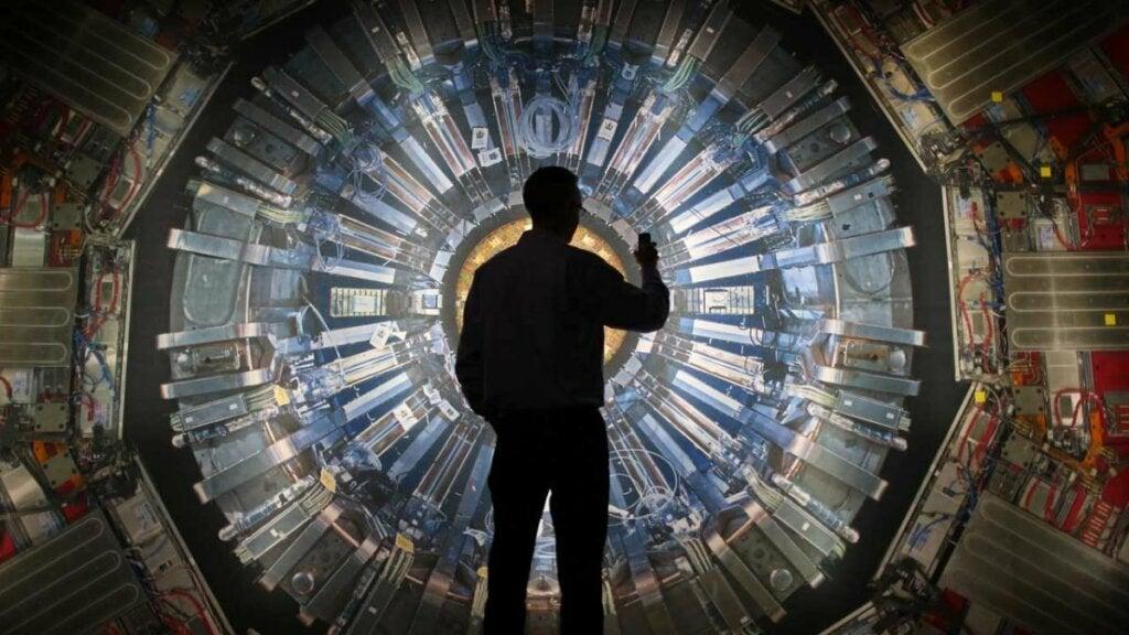 acelerador de partículas para ver el Bosón de Higgs