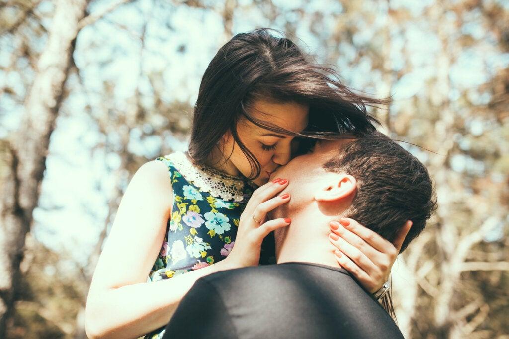 Escena para representar las relaciones afectivas en las personas emocionalmente intensas y sensibles