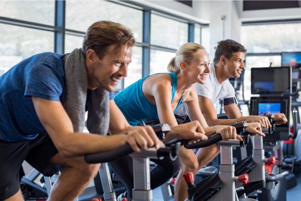 5 beneficios psicológicos del spinning