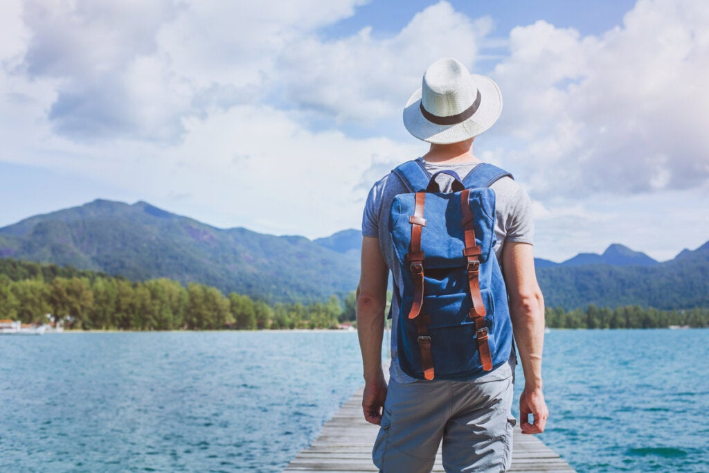Hyvä elämä voi olla reissaamista.