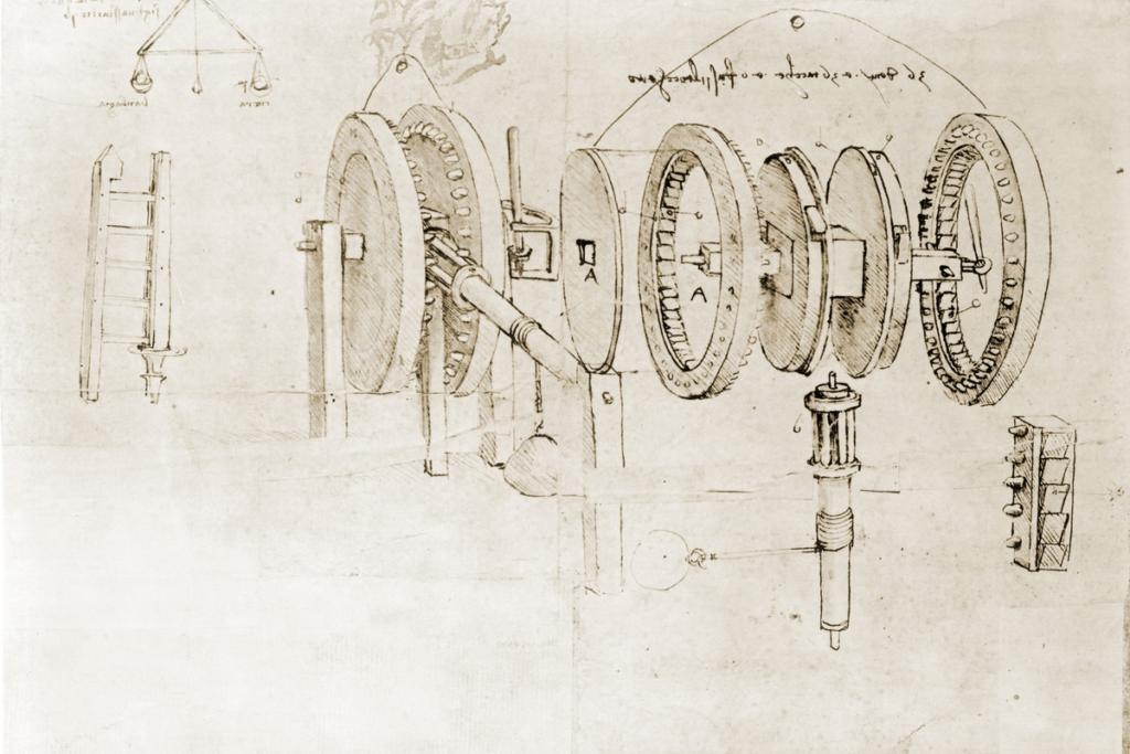 Leonardo Da Vinci notisbokside