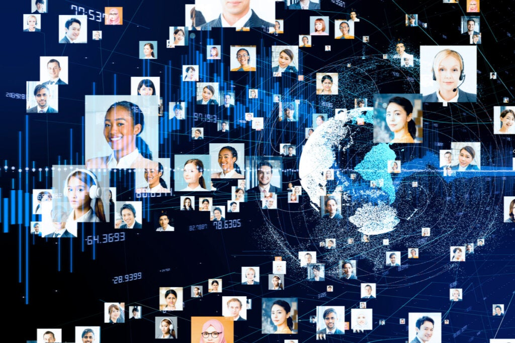 Personas conectadas digitalmente