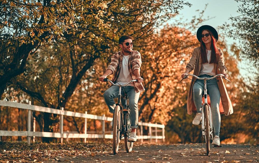 Sykkel som transportmiddel.
