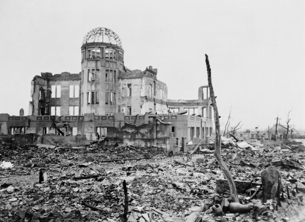 Explosión a Hiroshima.