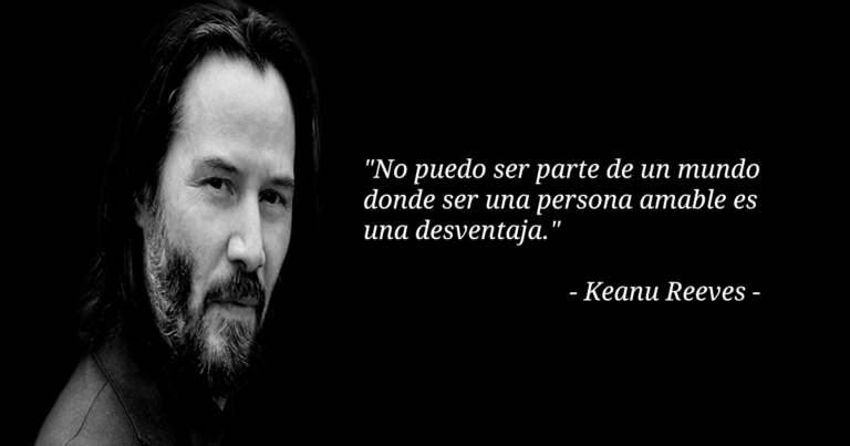 Imperdible mensaje de Keanu Reeves