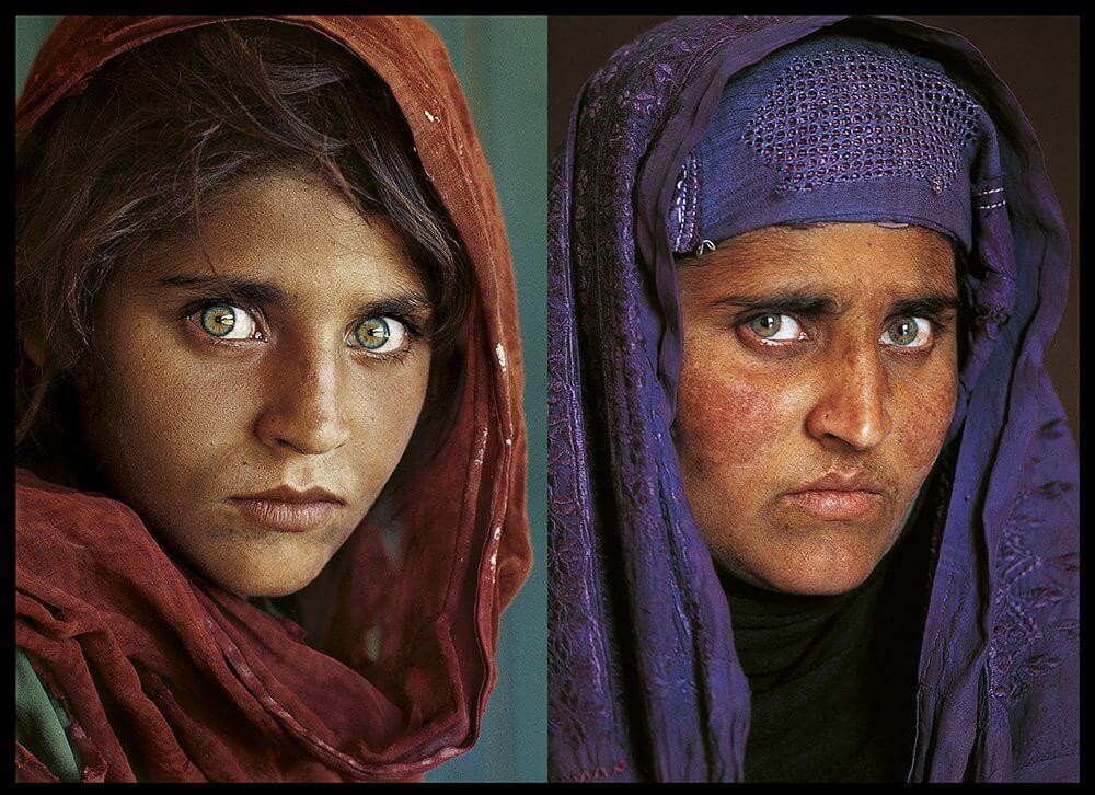 Una vida bajo las sombras: niña refleja los cambios en Afganistán