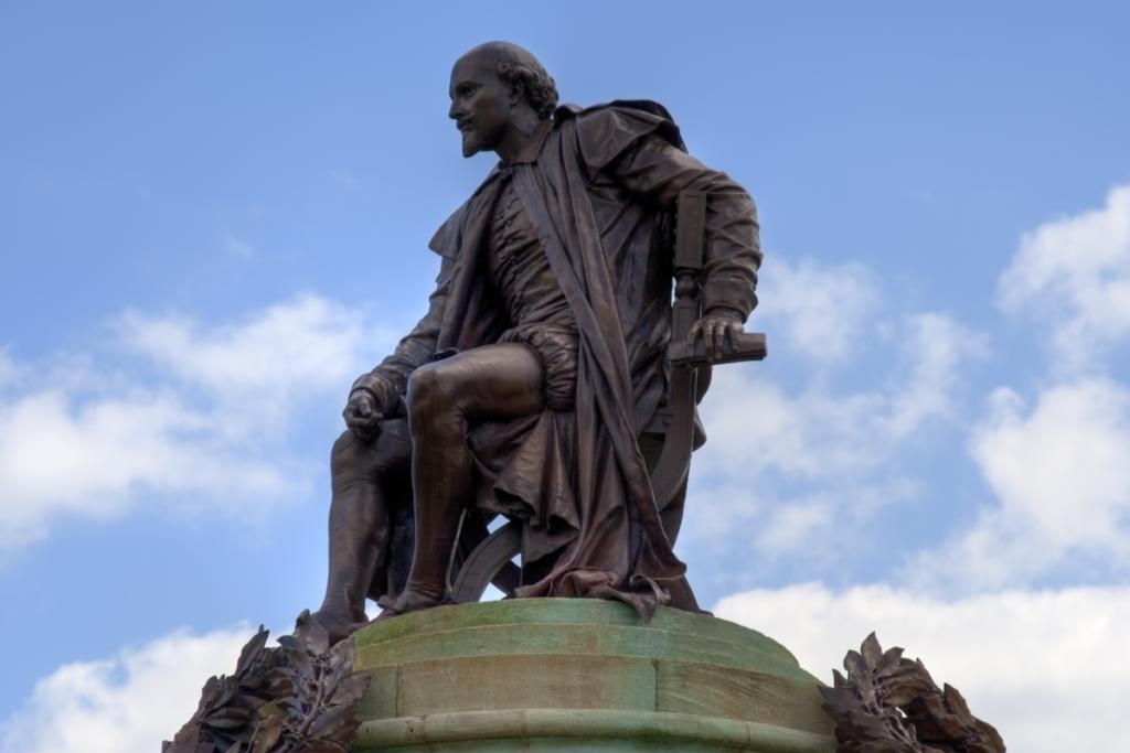 Estatua de William Shakespeare