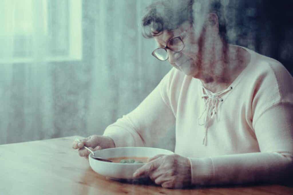 ¿Por qué las personas con demencia tienen problemas para tragar la comida?