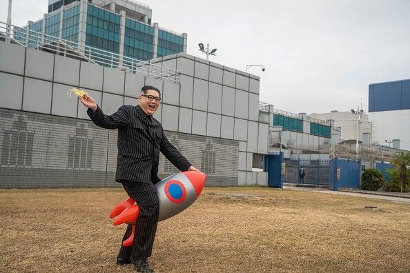 Presidente de Corea del Norte.